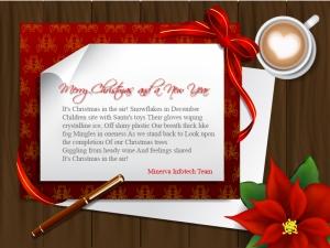 Merry Christmas from Minerva Infotech Team